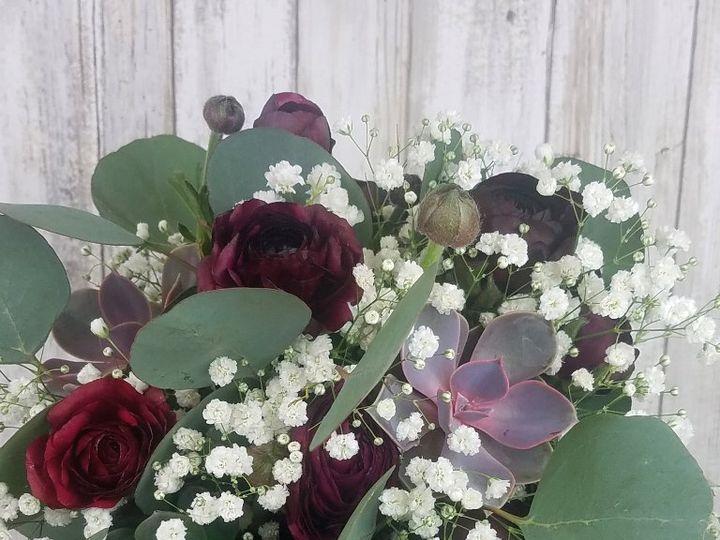 Tmx Bb1411 Succulant And Ranunculu Bridal Bouquet 51 42687 Oregon City, OR wedding florist