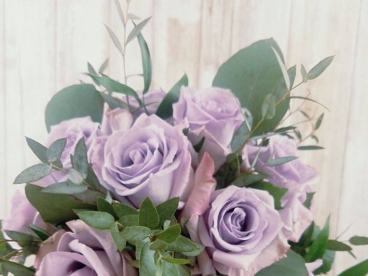 Tmx Bb1420 Ocean Song Rose And Eucalyptus Brides Bouquet 51 42687 Oregon City, OR wedding florist