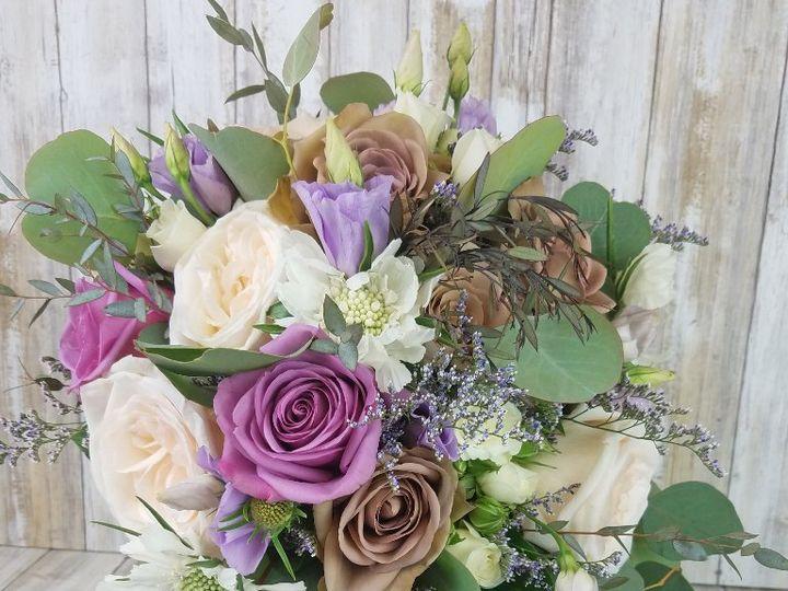Tmx Bb1422 Dusty Lavender Brides Bouquet 51 42687 Oregon City, OR wedding florist
