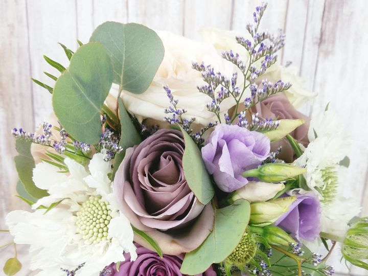 Tmx Bb1423 Antique Lavender Bridesmaids Bouquet 51 42687 Oregon City, OR wedding florist