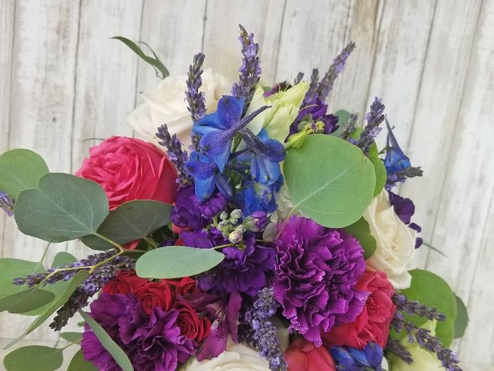 Tmx Bb1439 Blue And Purple Wedding Bouquet 51 42687 Oregon City, OR wedding florist