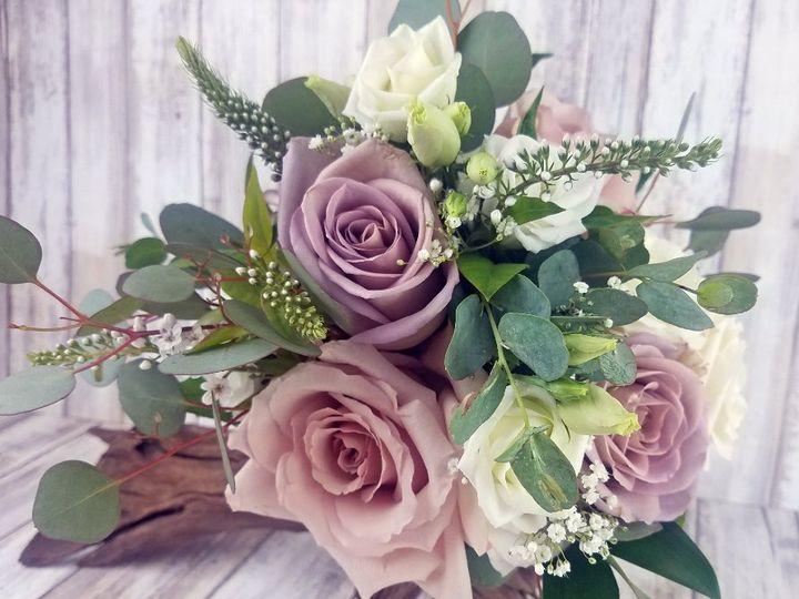 Tmx Bb1453 Soft Lavender And Greenery Bridal Bouquet Copy 51 42687 Oregon City, OR wedding florist
