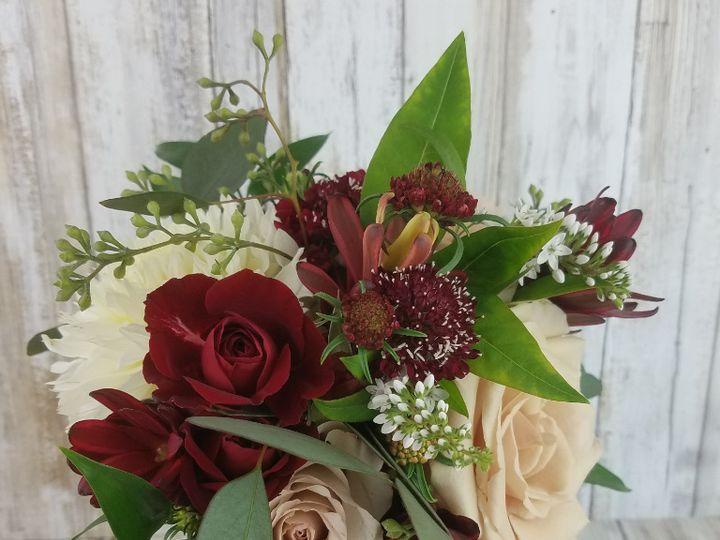 Tmx Bb1455 Petal Pink And Wine Bridal Bouquet 1 Copy 51 42687 Oregon City, OR wedding florist