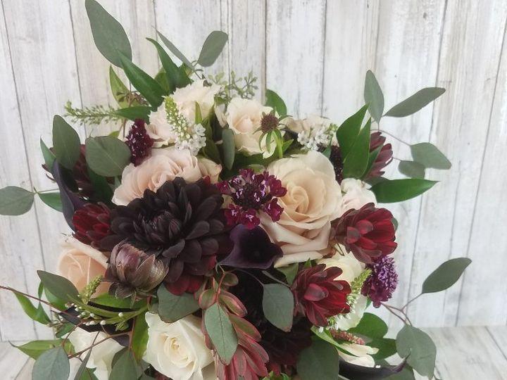 Tmx Bb14560 Maroon And Bisque Brides Bouquet Copy 51 42687 Oregon City, OR wedding florist