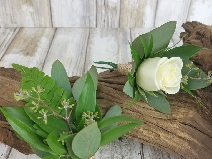 Tmx Bf0767 Natural Greenery Boutonnieres Copy 51 42687 Oregon City, OR wedding florist