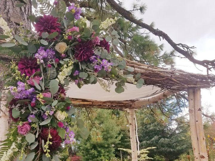 Tmx Cf09249 Natural Chuppa With Asymetrical Floral Spray 1 51 42687 Oregon City, OR wedding florist