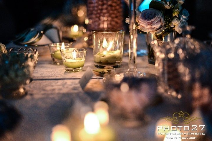Arrangements with candels at Turin in Piemont in the north west of Italy