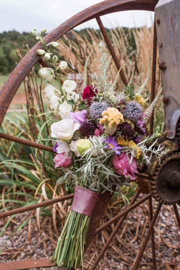 Example of early September Bridal Bouquet