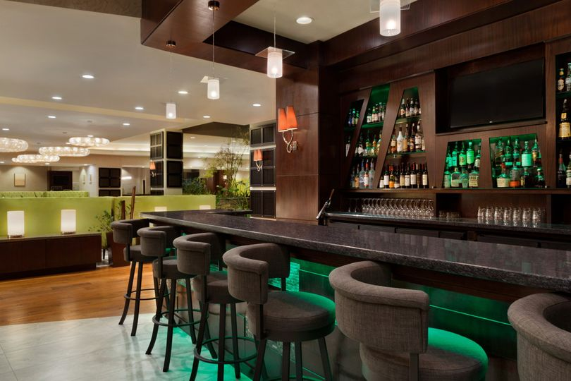 Lounge with a full bar