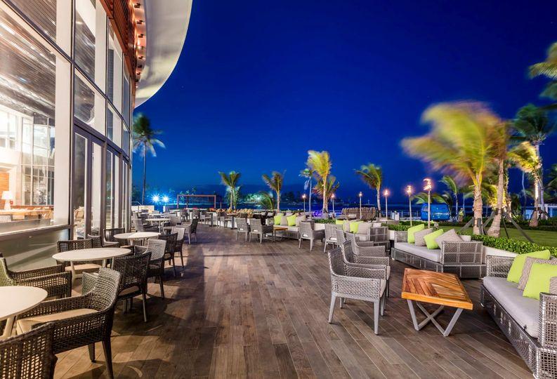 Caribe Hilton Caribar Terrac