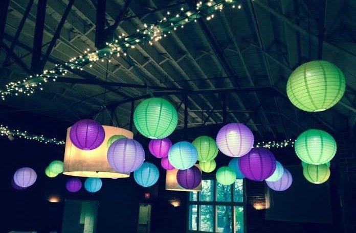 Tmx 1431390248611 Colored Lanterns Three Lenexa wedding eventproduction