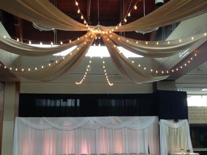 Tmx 1431390655357 Kw Ceiling Backrop Lenexa wedding eventproduction