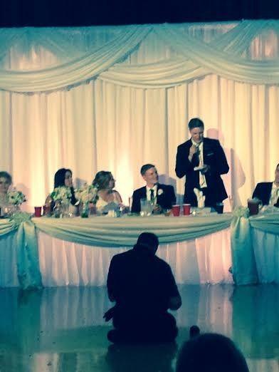 Tmx 1431390723032 Kw Sam Keith Toast 2 Lenexa wedding eventproduction