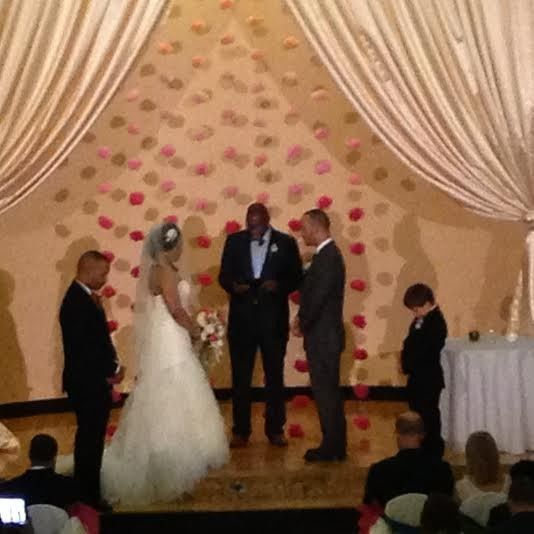 Tmx 1432744987213 Bride And Groom Ceremony Lenexa wedding eventproduction
