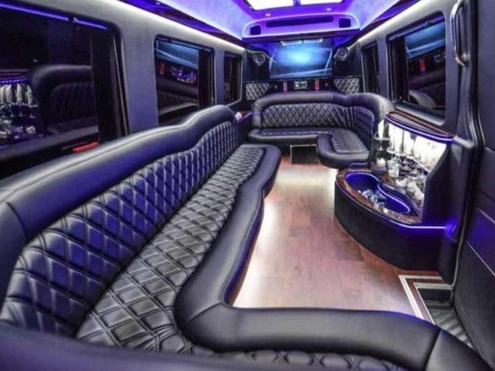 Tmx Austin Mercedes Sprinter Limo 14 Passenger Austin 51 1075687 1562188626 Des Plaines, IL wedding transportation