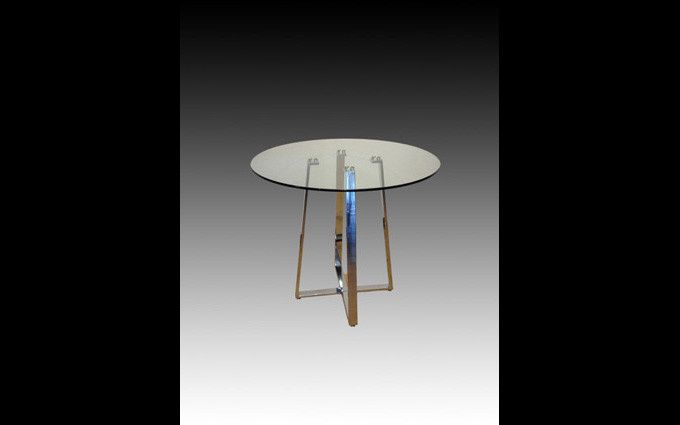 glass counter height tabl
