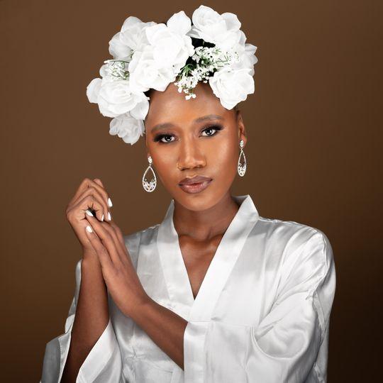 Luxury Flower Bride
