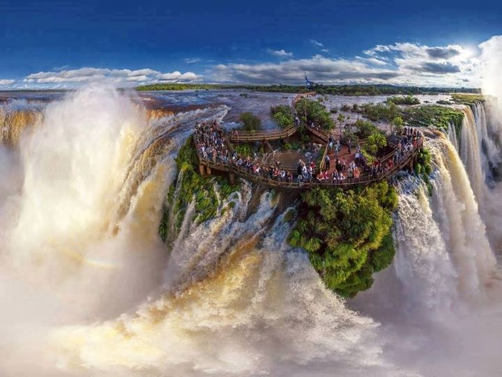 Tmx Iguazu Falls Border Of Brazil And Argentina 51 1036687 Davenport, FL wedding travel