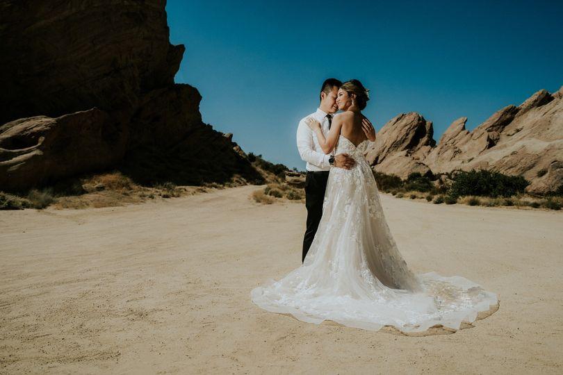 Vasquez Rocks Wedding