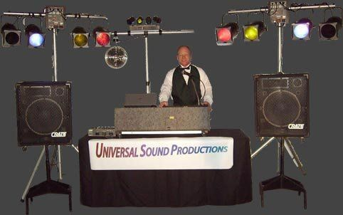Owner emcee Wayne Sutherby Universal Sound Productions