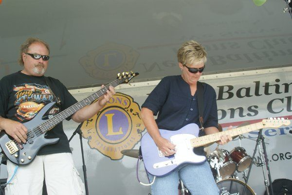Live Sound for Blueberry Fest Ginger Young Band