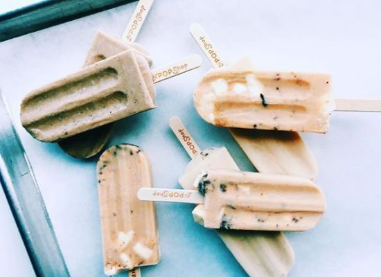 Iced coffee pops