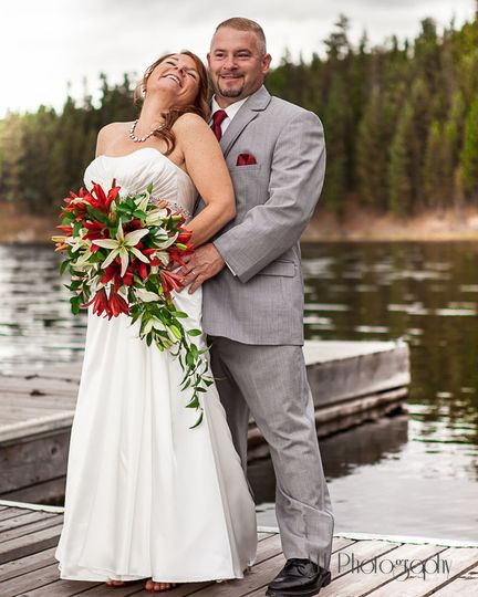 Intimate wedding in Montana