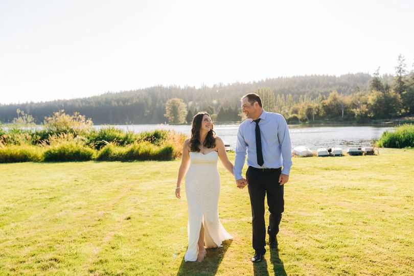 Whidbey Island wedding