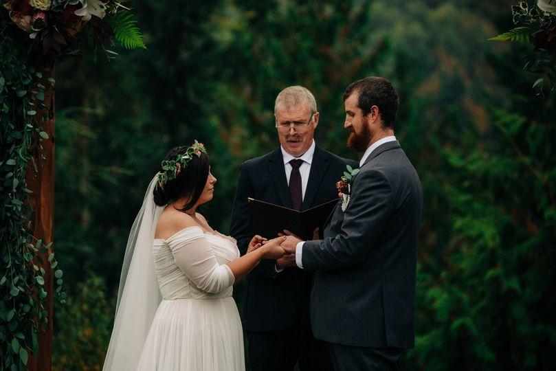 Olympic Peninsula wedding