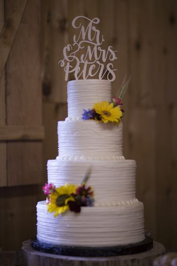 Holiday acres wedding