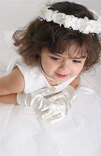 Tmx 1278463054317 HeadpiecesForFlowerGirls Chatsworth wedding dress