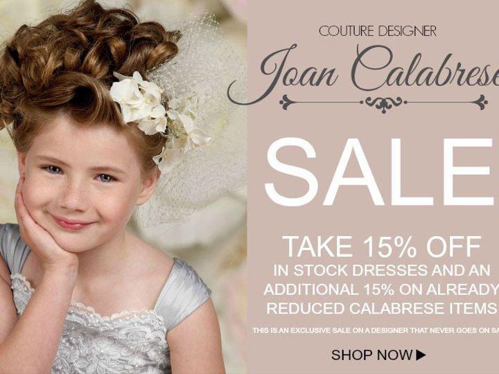 Tmx 1444070652393 Joan Calabrese Sale Chatsworth wedding dress