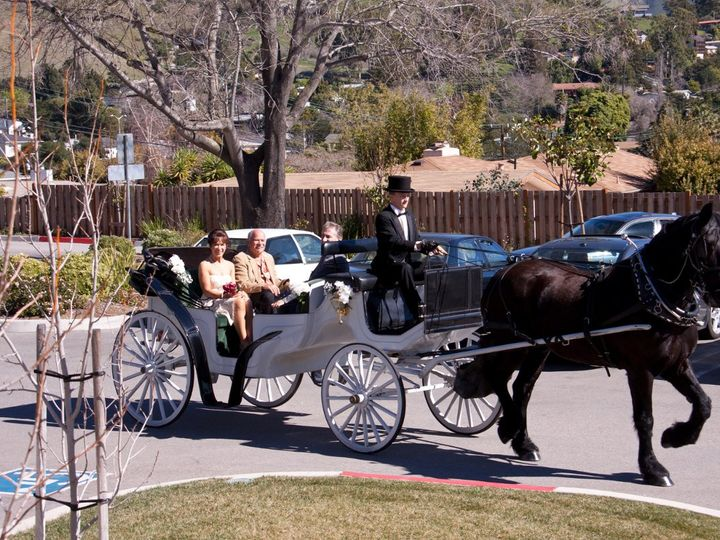 Tmx 1349308822021 Bestrainycarriage San Luis Obispo wedding transportation