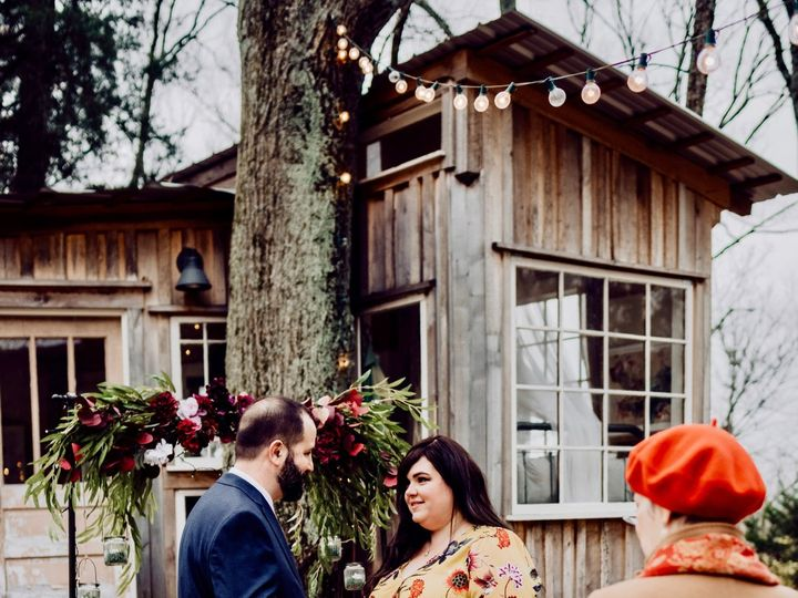 Tmx Jessica And Albert Tn Treehouse Elopement Wilde Company 5931 51 769687 Nashville, TN wedding officiant