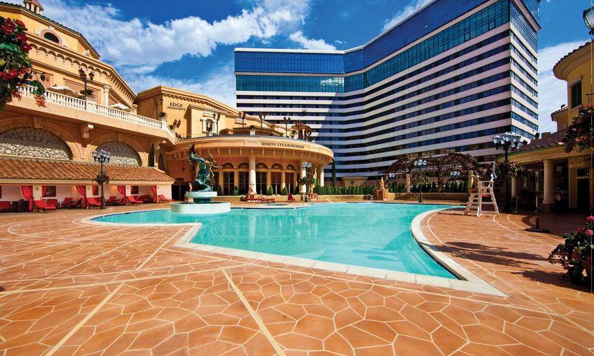 Resort daytime view