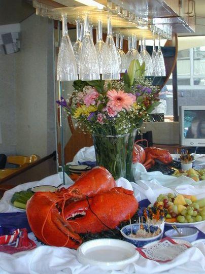 lobster set up