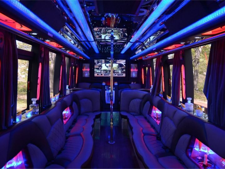Tmx Party Buses Interior 51 522787 Fort Worth, TX wedding transportation