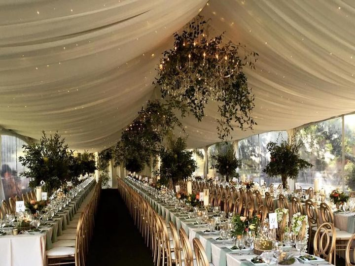 Tmx 1523485783 A2b8b0e7aa275669 1523485782 Ec1ace10039572e0 1523485782349 11 Tent With Ceiling Monterey wedding rental