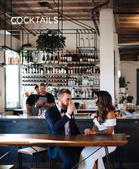 At the bar - ARIVPHOTO