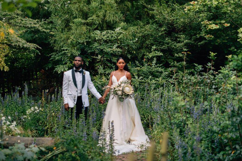Chic luxury Baltimore wedding