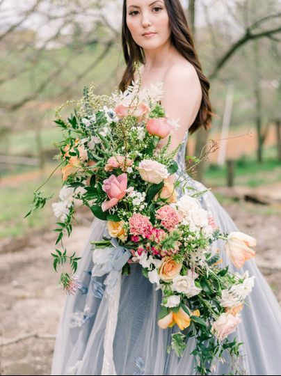 Luxury, whimsical bouquet