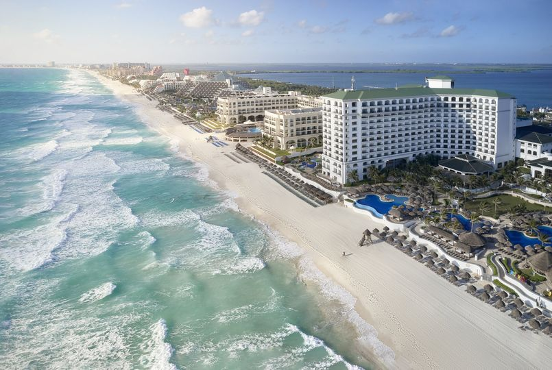 JW Marriott Cancun Areal View