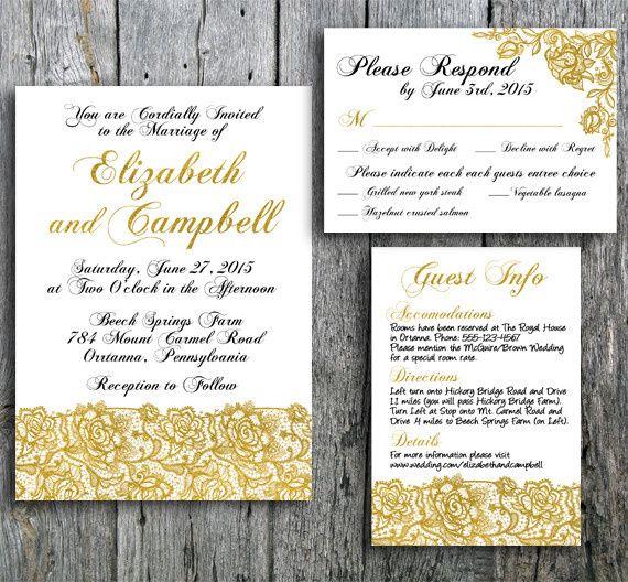 gold lace wedding main 5x7
