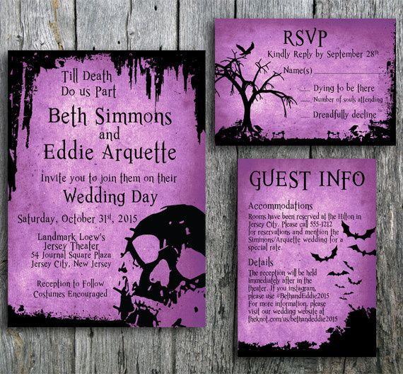 halloween skull wedding main 5x7