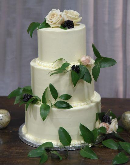 Simple but elegant cake.