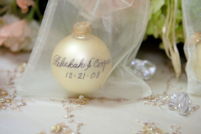 Couple's name at the ball