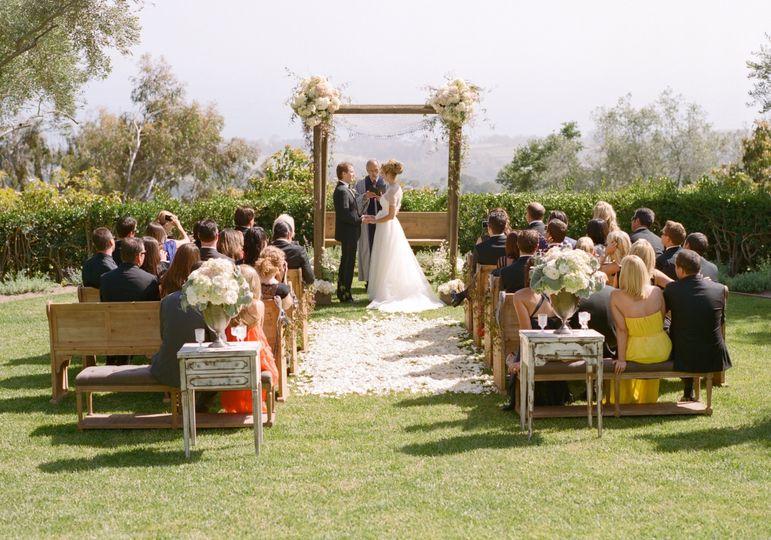 Intimate Montecito Wedding