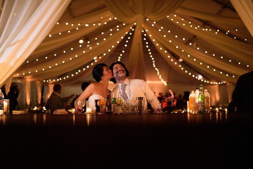 Tented Vineyard Wedding