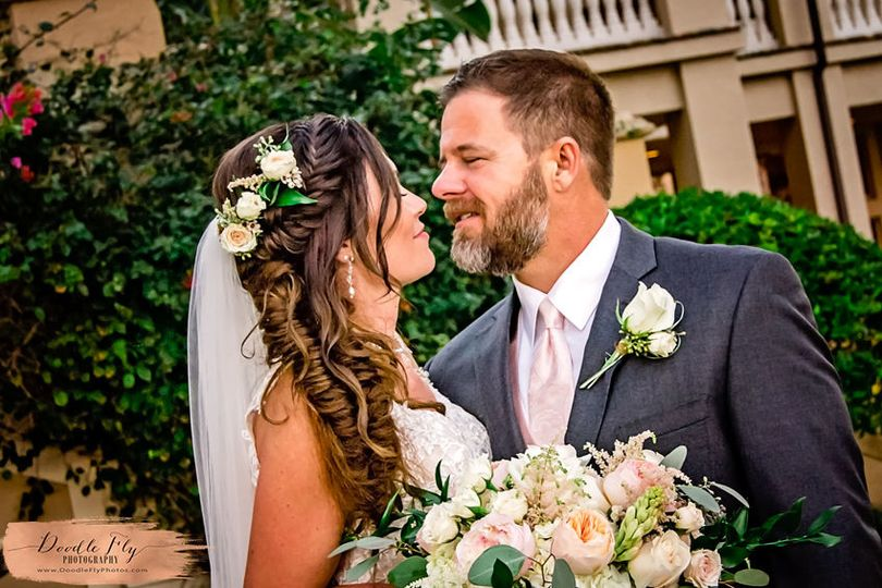 Beautiful Elegant Wedding at The Strand, Naples Florida, Photography  by Doodle Fly Photography