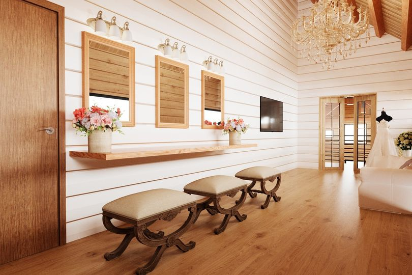 Luxurious wedding suite